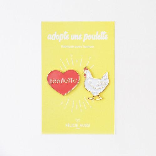 Pin's Poulette