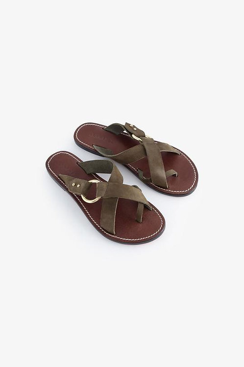 Sandales JOUVENCE - kaki - I SOEUR