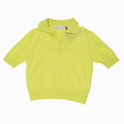 Polo court - lemon - I PHISIQUE DU ROLE