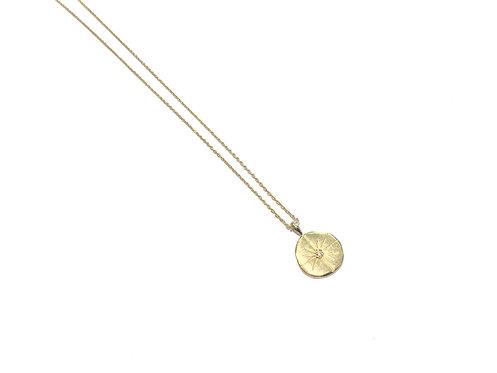 Collier médaille hop Sun I Hanka-ïn