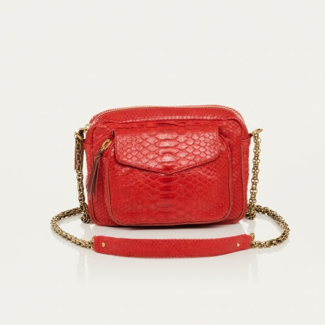 Sac CHARLY - rouge - I CLARIS VIROT