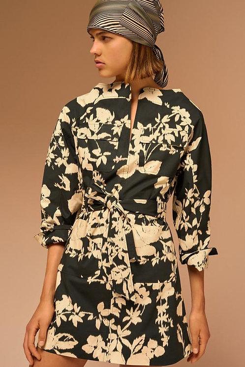 Robe MATCHA - noir & blanc - I SOEUR