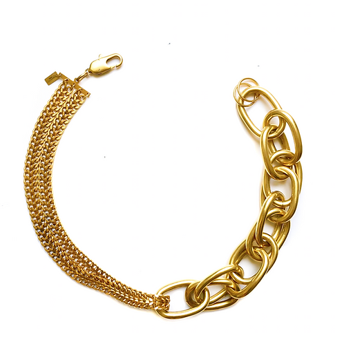 Courcelle - Collier - gold