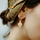 Thumbnail: Boucles d'oreilles ANAHATA S - topaz blanc -  I DOROTHÉE SAUSSET