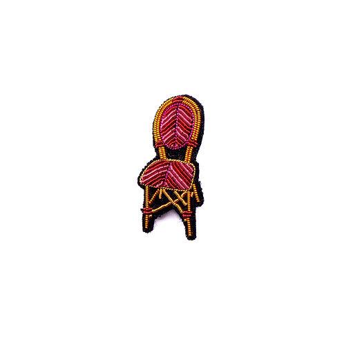 Broche 'Chaise de bistrot' I Macon & Lesquoy