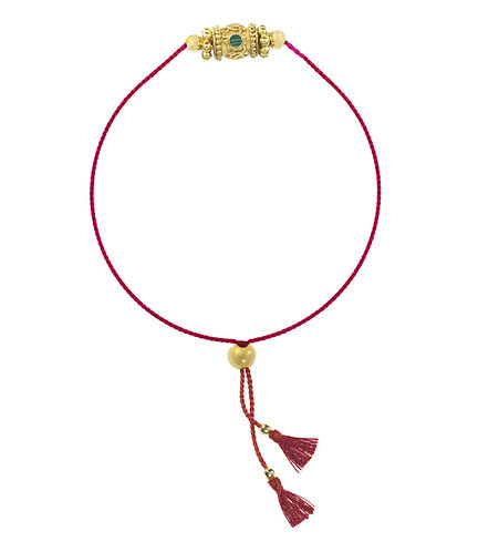 Bracelet RAKHI ONE - malakite -  I DOROTHÉE SAUSSET