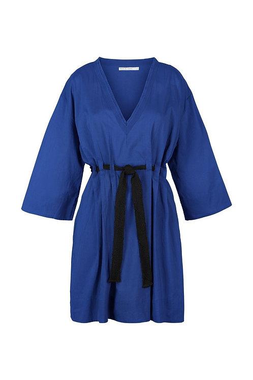 Robe Agatha courte Purple Blue