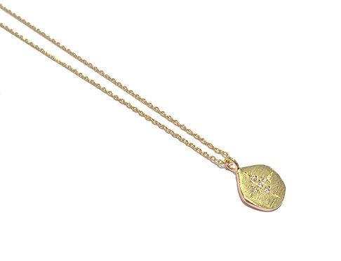 Collier hop médaille Cross I Hanka-ïn