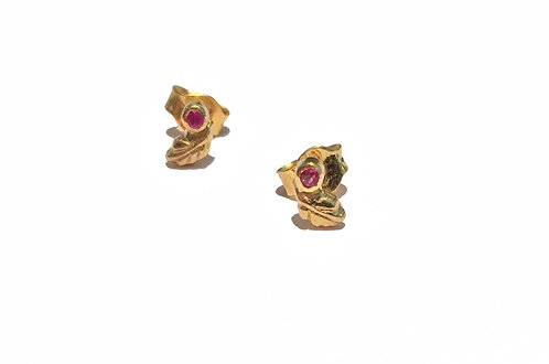 Boucles d'oreille Ruby I 5 Octobre