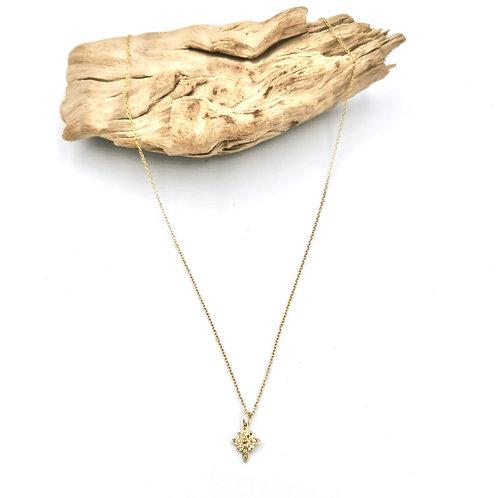Collier - vermeil & diamants - I 5 Octobre