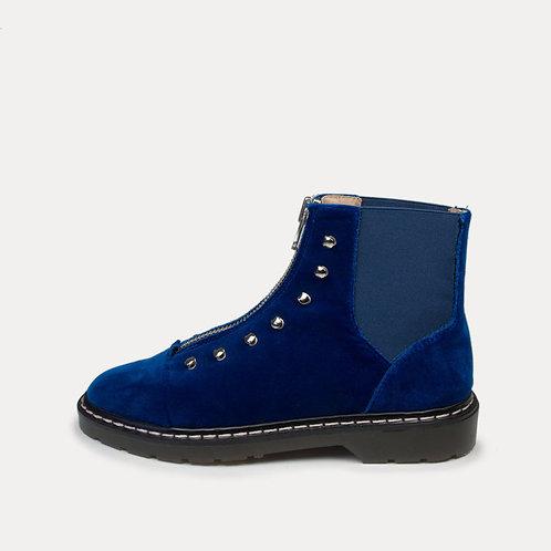 Danalo Boots - velvet blue I AN HOUR AND A SHOWER
