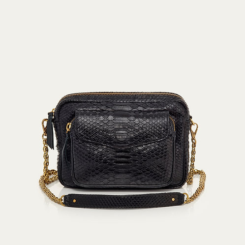 Sac BIG CHARLY - noir & or - I CLARIS VIROT