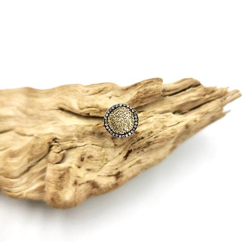 Bague - vermeil & diamants  - I 5 Octobre