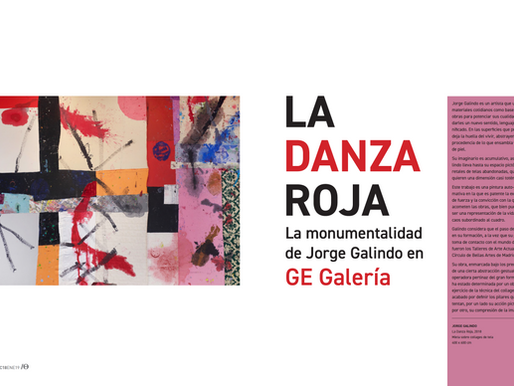 La Danza Roja: La Monumentalidad de Jorge Galindo en GE Galería