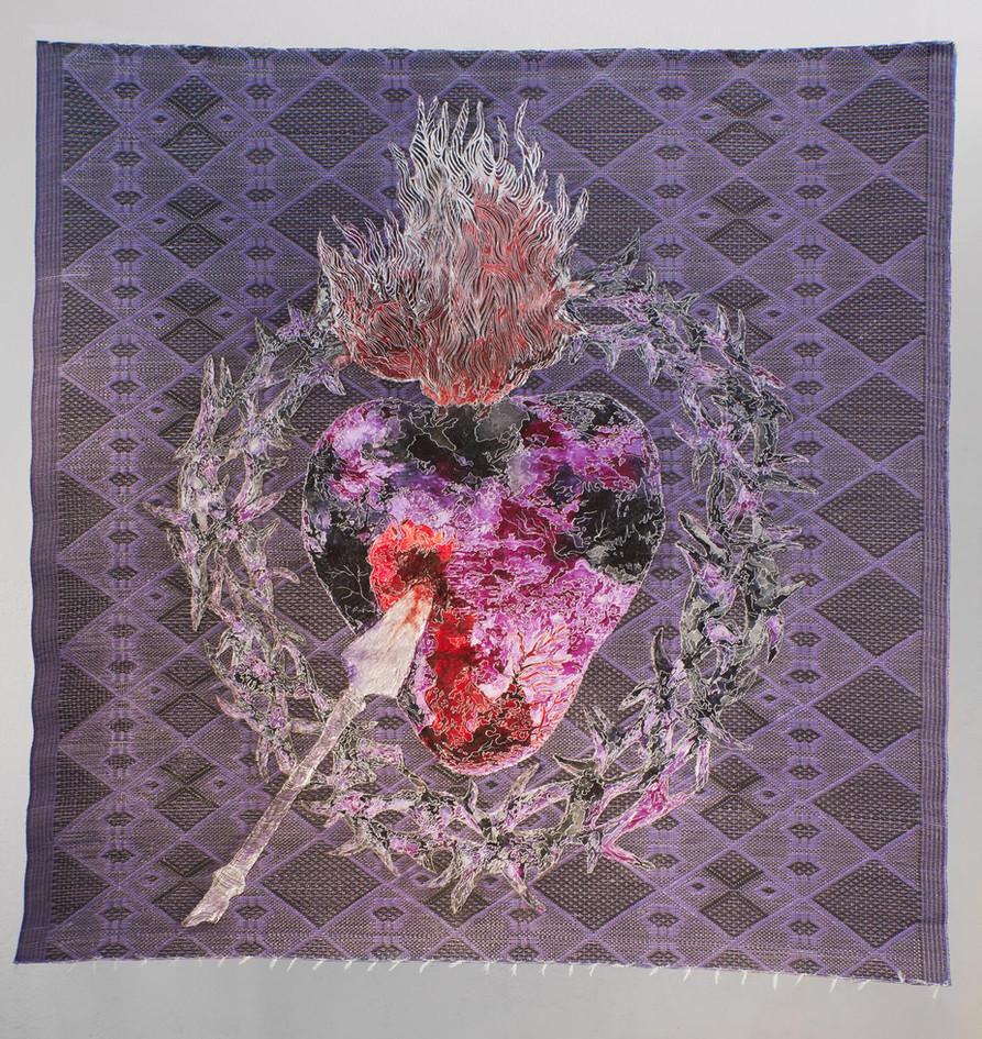 Me Sobra el Corazón (Purple)