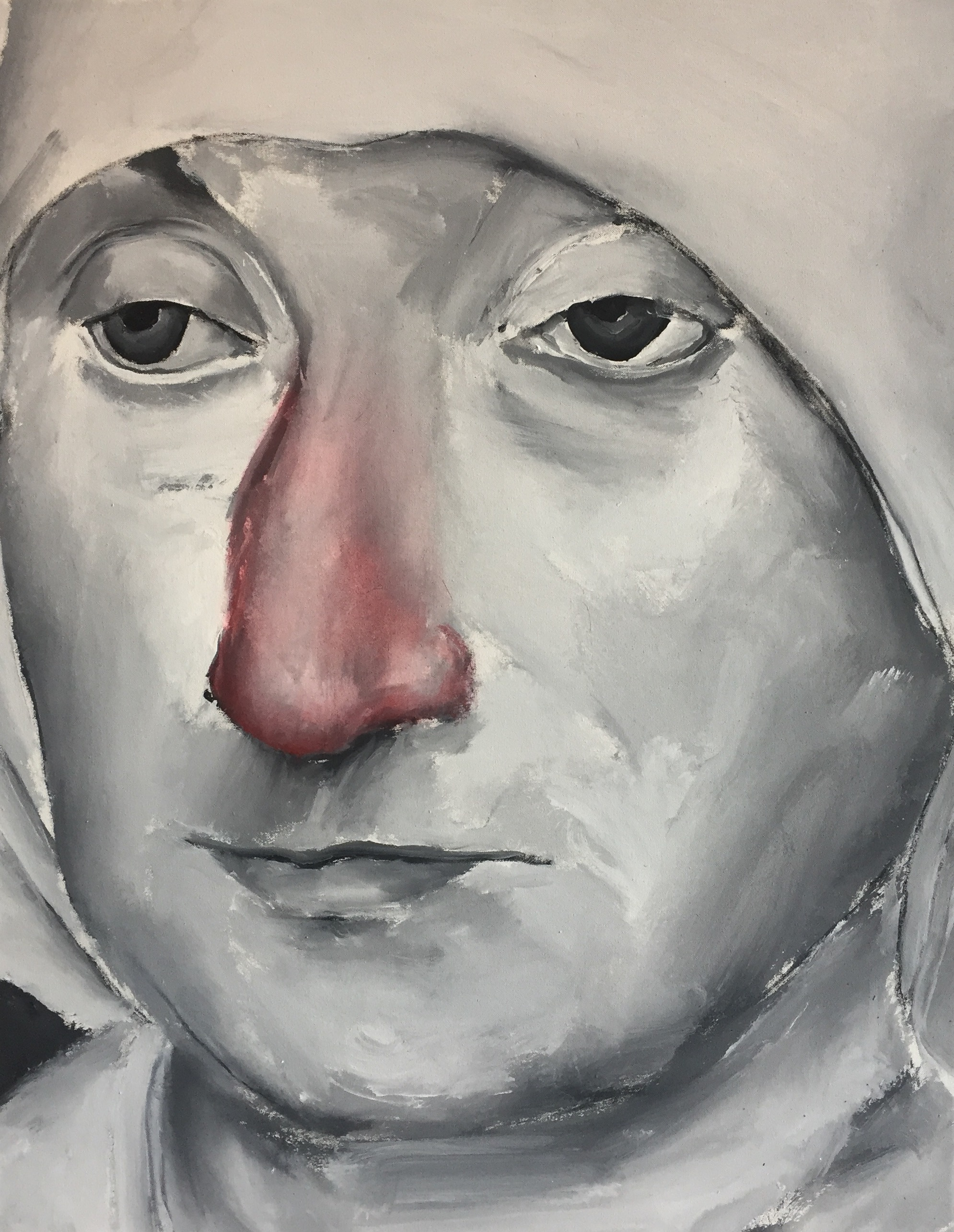 Untitled (Old Woman Red Nose)