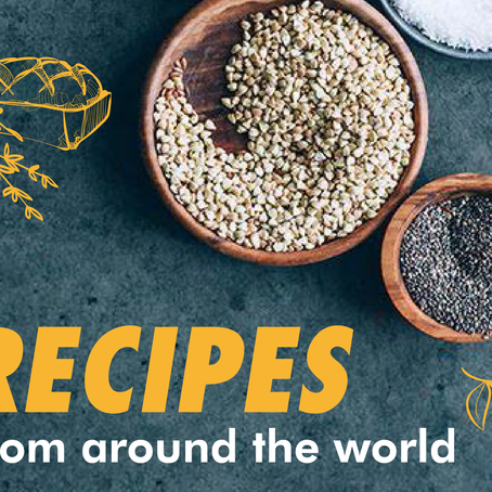 Enjoy recipes from around the world!