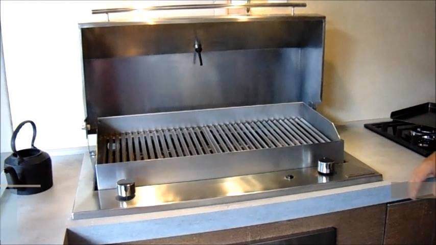 churrasqueira à gás modelo cooktop...