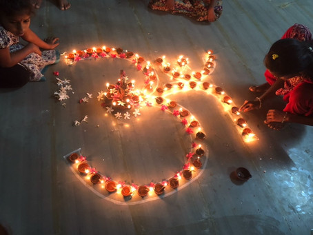 Festival of Lights in Aarti Home