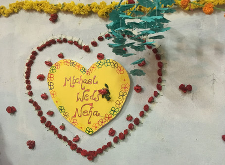 Celebrating love at Aarti Home