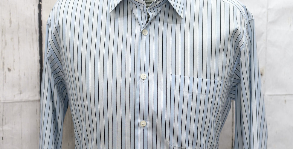 Classic Long Sleeve Shirt, Poplin Cotton (One piece)