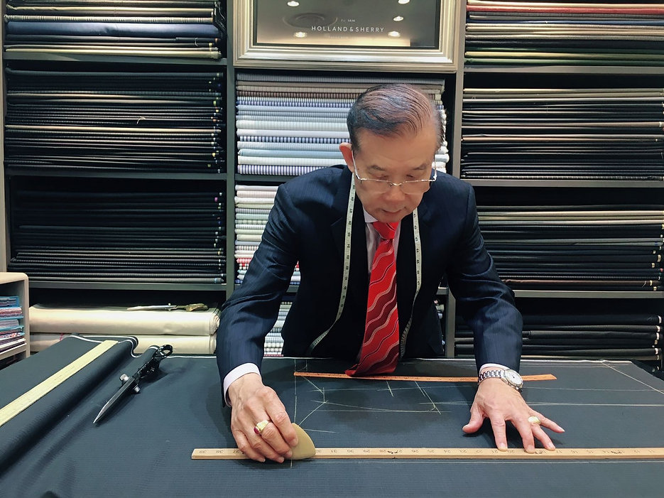 Every handcrafted bespoke suit is a work of art