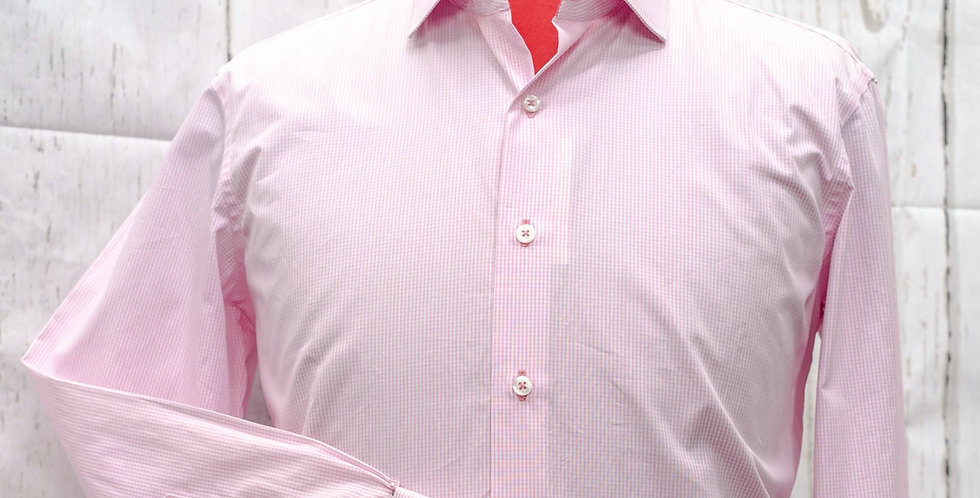 Classic Long-Sleeve Shirt, Poplin Cotton
