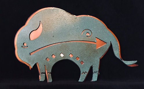 Buffalo on Copper