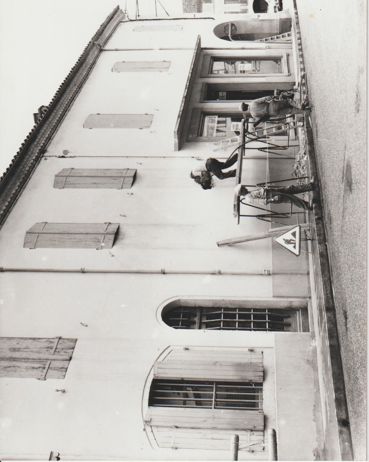 travaux en 1976
