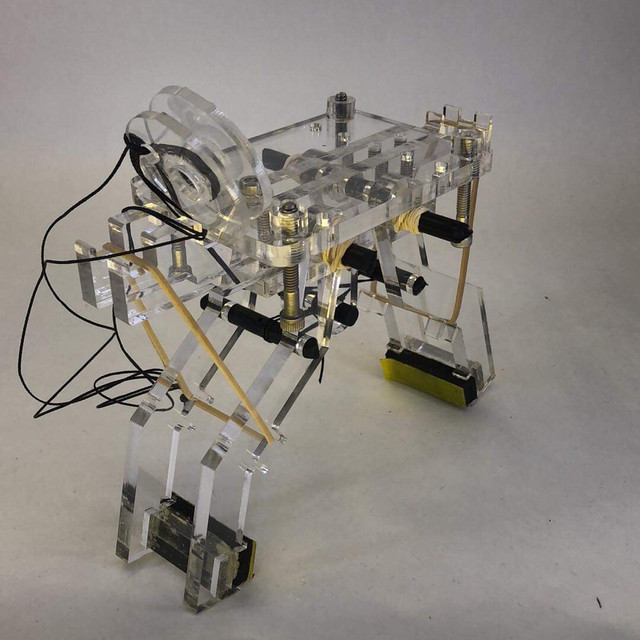 Robotic Swinging Gripper: Ultimate Light String-Pulley Model