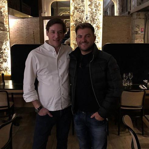 Toujours un plaisir de voir Eric, merci de ton passage chez Roza! _chefericguerin _jeanfrancoispantaleon _restaurantroza