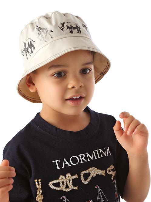 Beige Safari Summer Hat