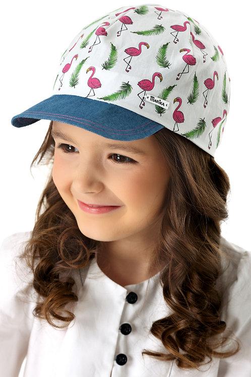 Flamingo Summer Girls Hat