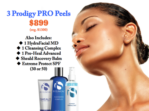 New! Prodigy Pro Chemical Peels by iS Clinical.