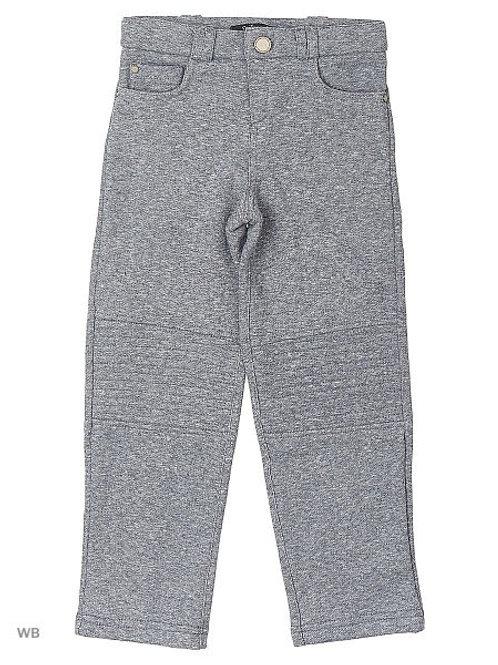 Grey Moto Cotton Pants