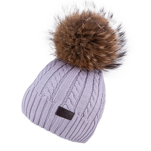 Lt. Grey Teen to Adult Knit Hat