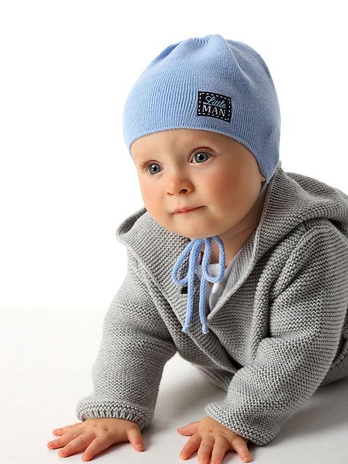 Little Man Knit Baby Boys Hat