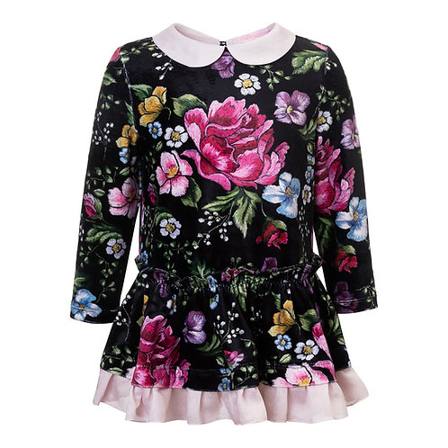 Holiday Flowers Dress