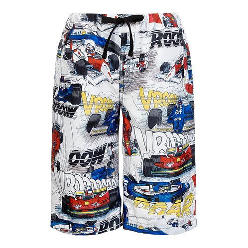Fun Race Car Summer Shorts