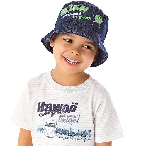 Denim Alien Summer Hat