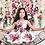 Thumbnail: White Flowery Satin Dress