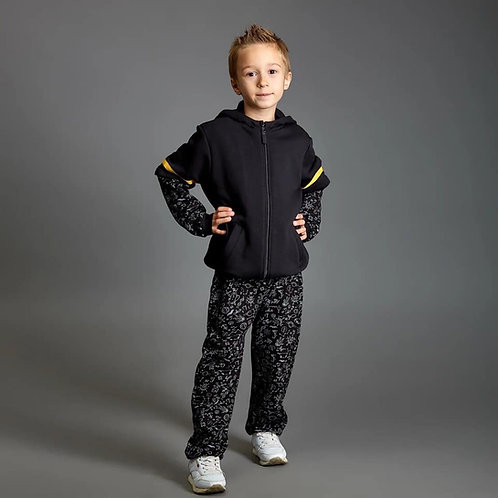 Black Space Sweat Suit
