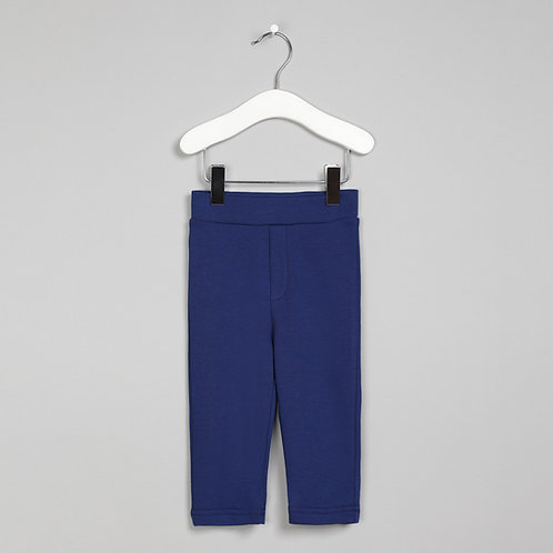 Navy Cotton Pants