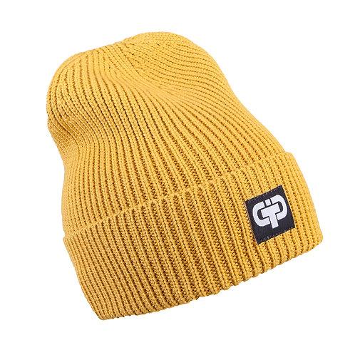 Mustard Yellow Knit Teen/Adult Hat