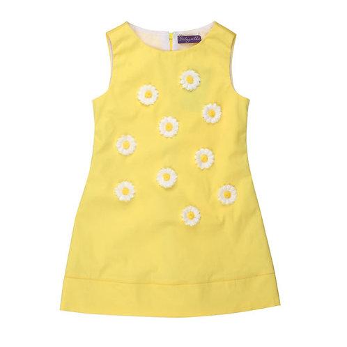 Yellow Dress with White Daisies