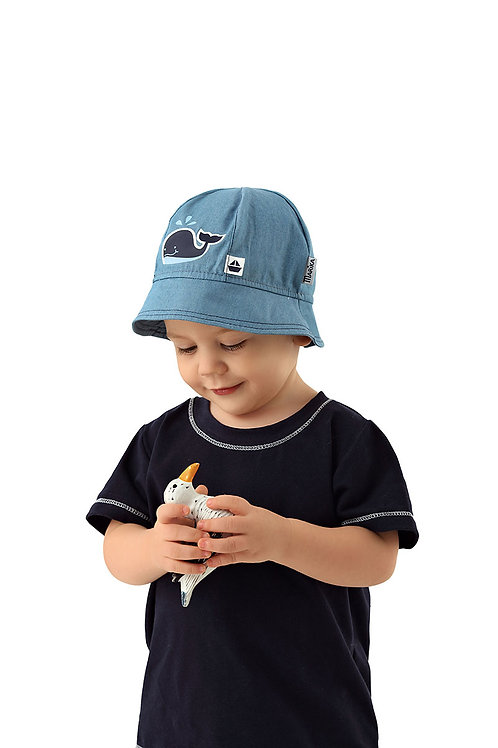 Whale Boys Summer Hat