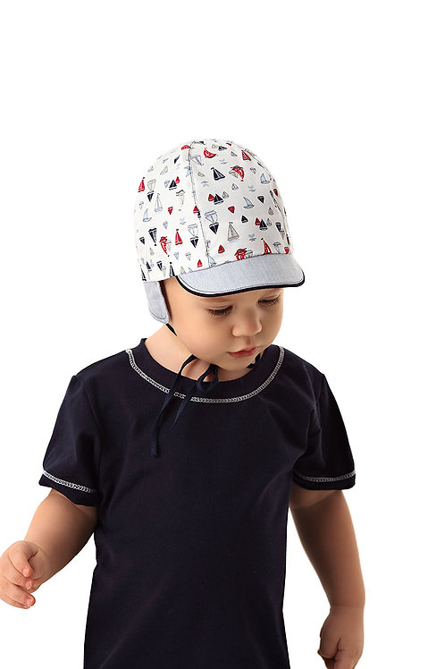 Fun Sail Baby Boys Summer Cap