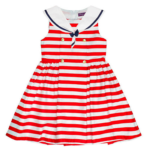 Red Naval Dress