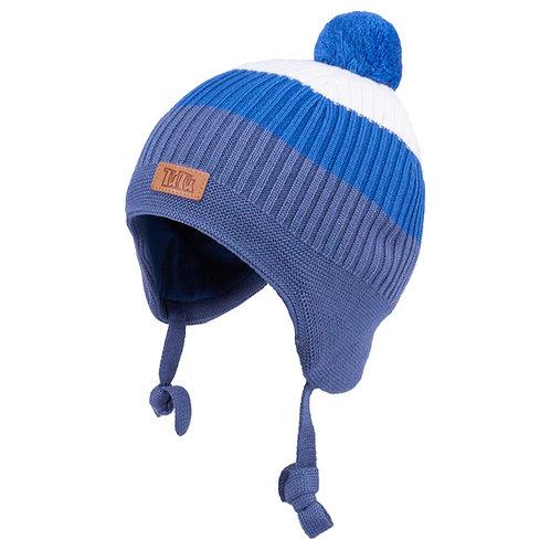 Blue Boys Knit Hat