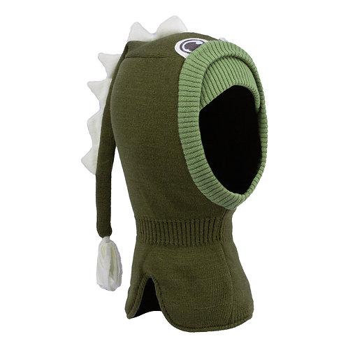 Olive Dinosaur Boys Knit Pullover Hat